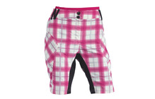 Northwave Pearl Baggy Women's chequered pink
